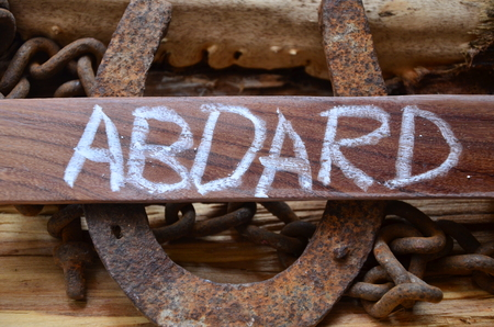 ABOARD WORD Standard-Bild - 101622476