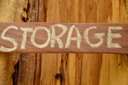 storage word Standard-Bild