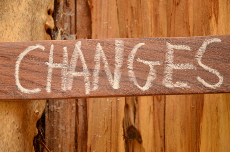 changes word