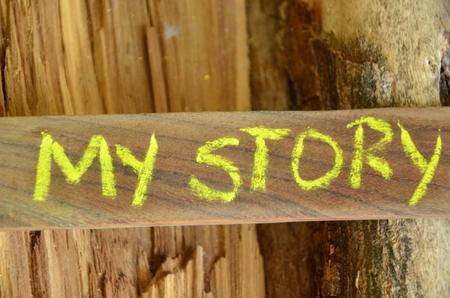 my story word Imagens