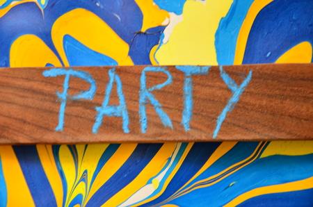 WORD PARTY Stok Fotoğraf