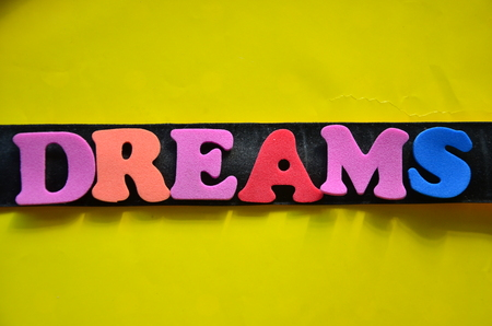 word dreams Stock Photo