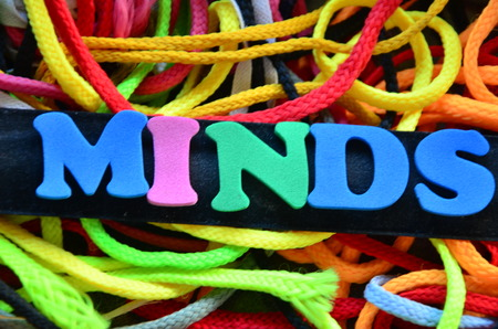 Word minds Stock Photo