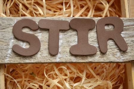 Stir word