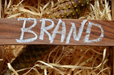 word brand Foto de archivo