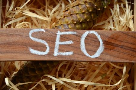 word seo Stock Photo