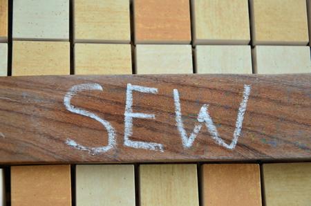 SEW WORD