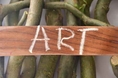 word art Stock Photo