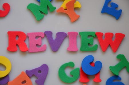 WORD REVIEW 版權商用圖片