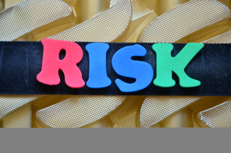 word risk Standard-Bild
