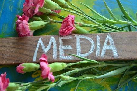 WORD MEDIA Stock fotó