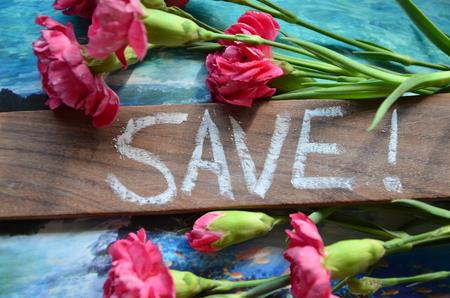 word save Archivio Fotografico - 102242387