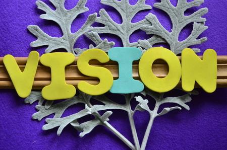 Word vision Foto de archivo