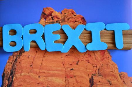 word brexit Stock Photo