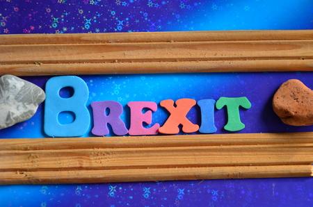 word brexit Banco de Imagens