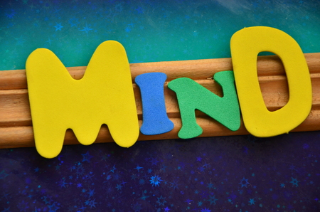 Word Mind Stock Photo