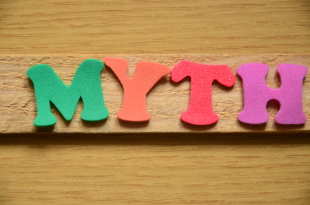word myth Stock Photo