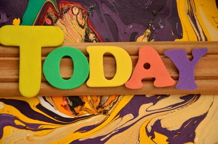 WORD TODAY Archivio Fotografico - 102437603