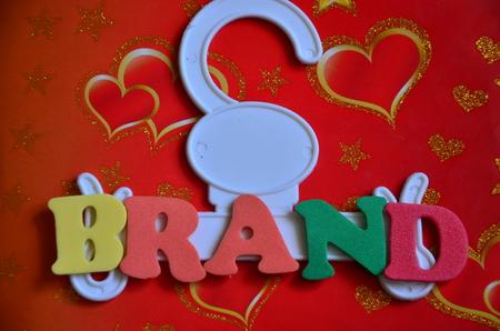 word brand 免版税图像