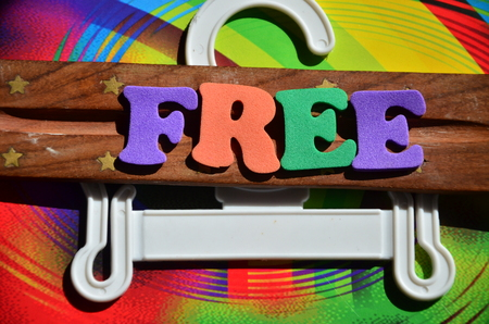 WORD FREE Stock Photo