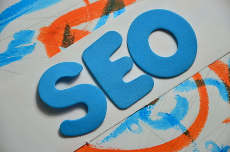 word seo Stock Photo