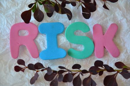 word risk Imagens