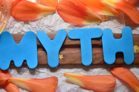 word myth Archivio Fotografico - 102726979