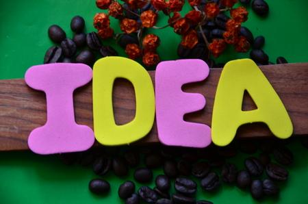 Word idea 免版税图像