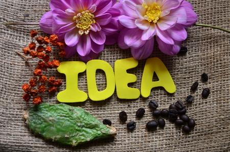 Word idea Foto de archivo