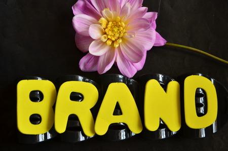 word brand Banco de Imagens