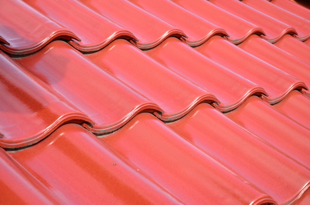 ceramic tile on the roof