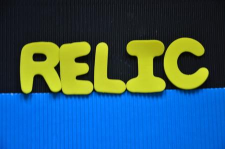 word relic Banco de Imagens - 102744190