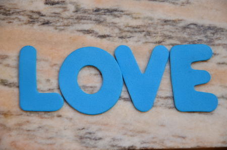 word love on an abstract background Banco de Imagens