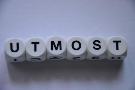word umost