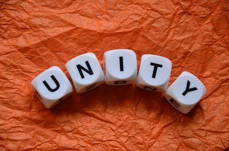 word unity bon an abstract colorfu lbackground