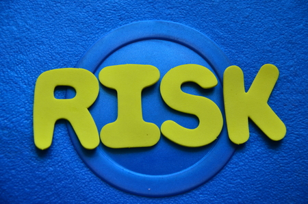 word risk Stock Photo