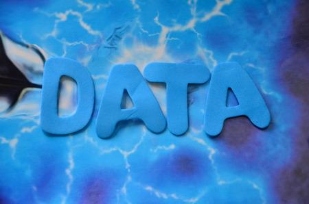 word data Фото со стока