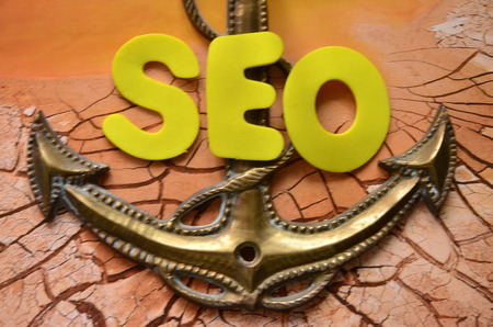 word seo Stockfoto