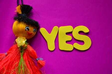 word yes 版權商用圖片