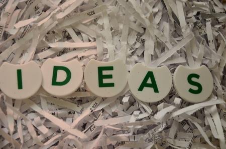 word ideas Фото со стока