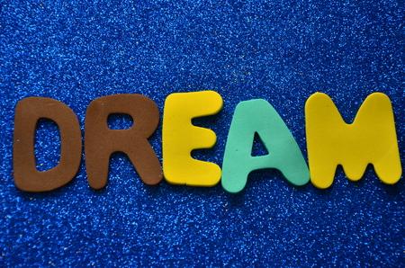 word dream 版權商用圖片