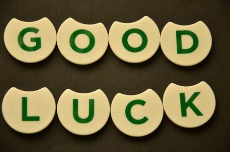 word good luck