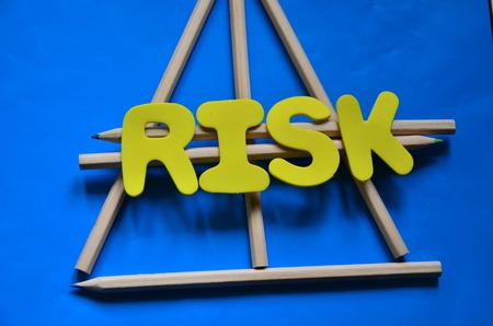 word risk Stock fotó