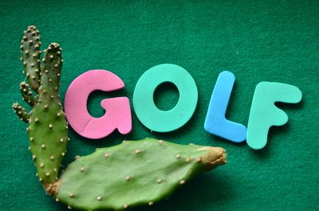 word golf