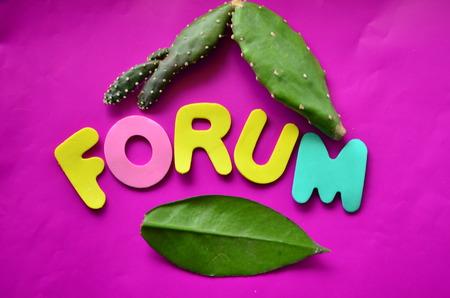 word forum Фото со стока