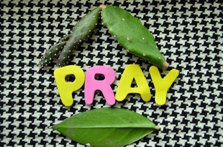 word pray
