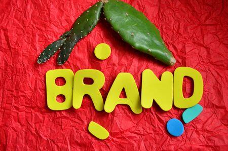 word brand Stock Photo