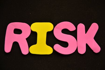 word risk Banque d'images