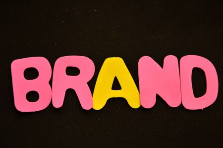 word brand Banque d'images