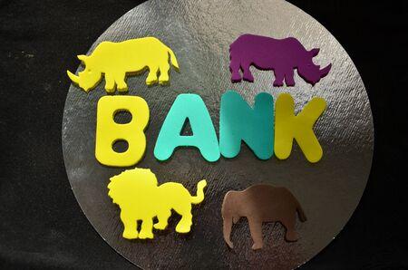 WORD BANK Zdjęcie Seryjne - 138107394